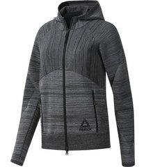 sweater reebok sport os knit control hoodie