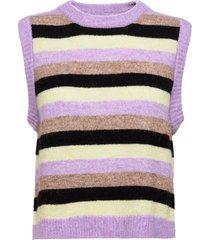 camirs vest vests knitted vests paars résumé