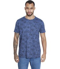 camiseta sideway looney tunes tazmania - azul