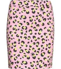 love moschino skirt kort kjol rosa love moschino