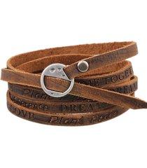 braccialetto a più strati per gli uomini