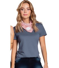 blusa para mujer gris oscuro atypical
