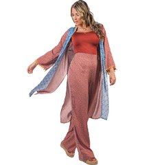 kimono adrissa patchwork folk
