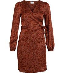 omlottklänning vikanaitaia l/s wrap dress