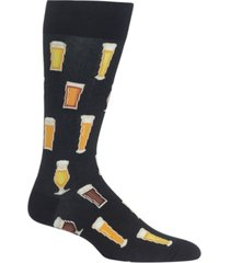 hot sox men's socks, printed crew