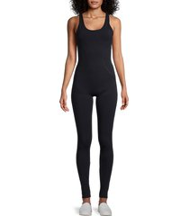 vimmia women's windsor solid jumpsuit - windsor black - size xs