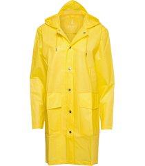hooded coat regnkläder gul rains