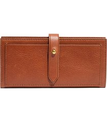 women's madewell new post leather wallet -