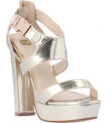 sandalia dusk dorado we love shoes
