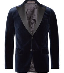 elder blazer smoking blauw oscar jacobson