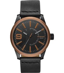 reloj para hombre diesel dz1841 negro pulso en cuero