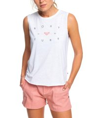 roxy juniors' good vibes chaser tank top