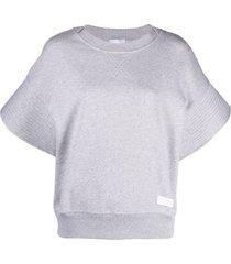 patou short-sleeved sweatshirt - grey