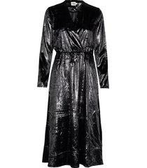 malena dress maxi dress galajurk zwart twist & tango