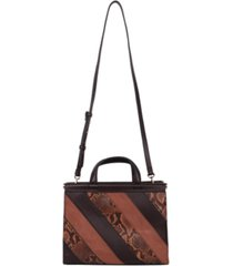 alfani dowel satchel, created for macy's