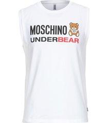 moschino sleeveless undershirts