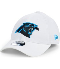 new era carolina panthers white team classic 39thirty cap