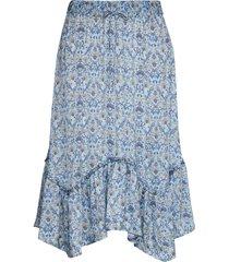 sensational skirt knälång kjol blå odd molly