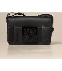 armani exchange crossbody bags armani exchange shoulder bag in synthetic leather