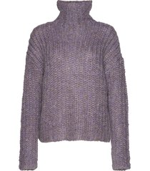 2nd stardust turtleneck coltrui paars 2ndday