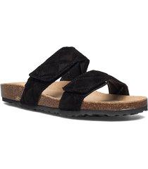 biabetricia quilt vel. sandal shoes summer shoes flat sandals svart bianco