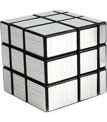 espejo mágico oro plata profesional cubo cubo mágico puzzle revestido