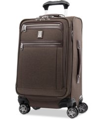 "travelpro platinum elite 21"" softside carry-on spinner"