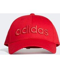 bone adidas baseball embrd vermelho