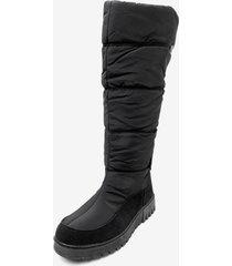 bota impermeable plein black chancleta