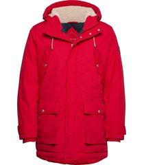 d2. the arctic parca parka jacka röd gant