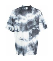 marcelo burlon county of milan camiseta com estampa tie-dye - branco