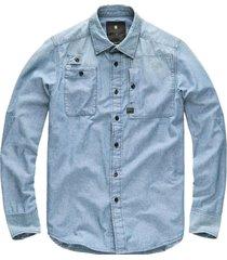 g-star h-a stalt utility straight shirt l/s d07355-9508-071