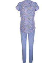 pyjamas blue moon lavendel::benvit