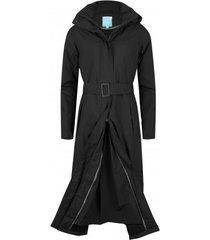 happyrainydays regenjas long raincoat padded bowie black-xs