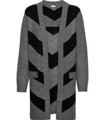 jacket knitwear gebreide trui cardigan grijs gerry weber