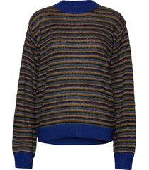 ameli jumper stickad tröja blå lollys laundry