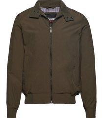 montauk harrington jacket tunn jacka grön superdry