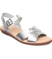 willow gild shoes summer shoes flat sandals silver clarks