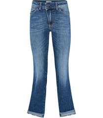 jeans denim step cut