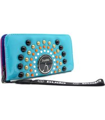 billetera azul buda