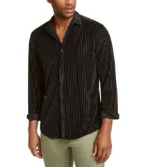 inc men's burn out stripe shirt, created for macy's