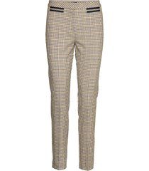 pants classic 1/1 length pantalon met rechte pijpen beige betty barclay