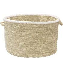 colonial mills silhouette braided storage basket