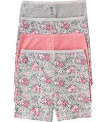 culotte lunga a vita alta (pacco da 4) (grigio) - bpc bonprix collection