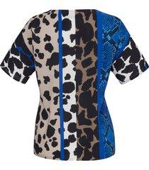 shirt met korte mouwen van emilia lay multicolour