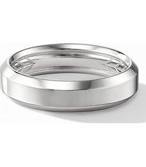 men's david yurman 18k beveled band ring