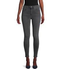 joe's jeans women's high-rise curvy skinny jeans - lomita - size 24 (0)