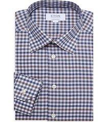 contemporary-fit plaid-print dress shirt