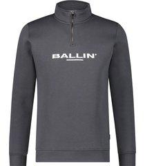 ballin amsterdam half rits sweater