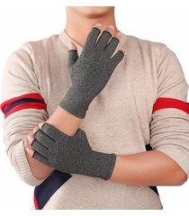 guante algodón guante spandex artritis dedo medio guante guante transpirable